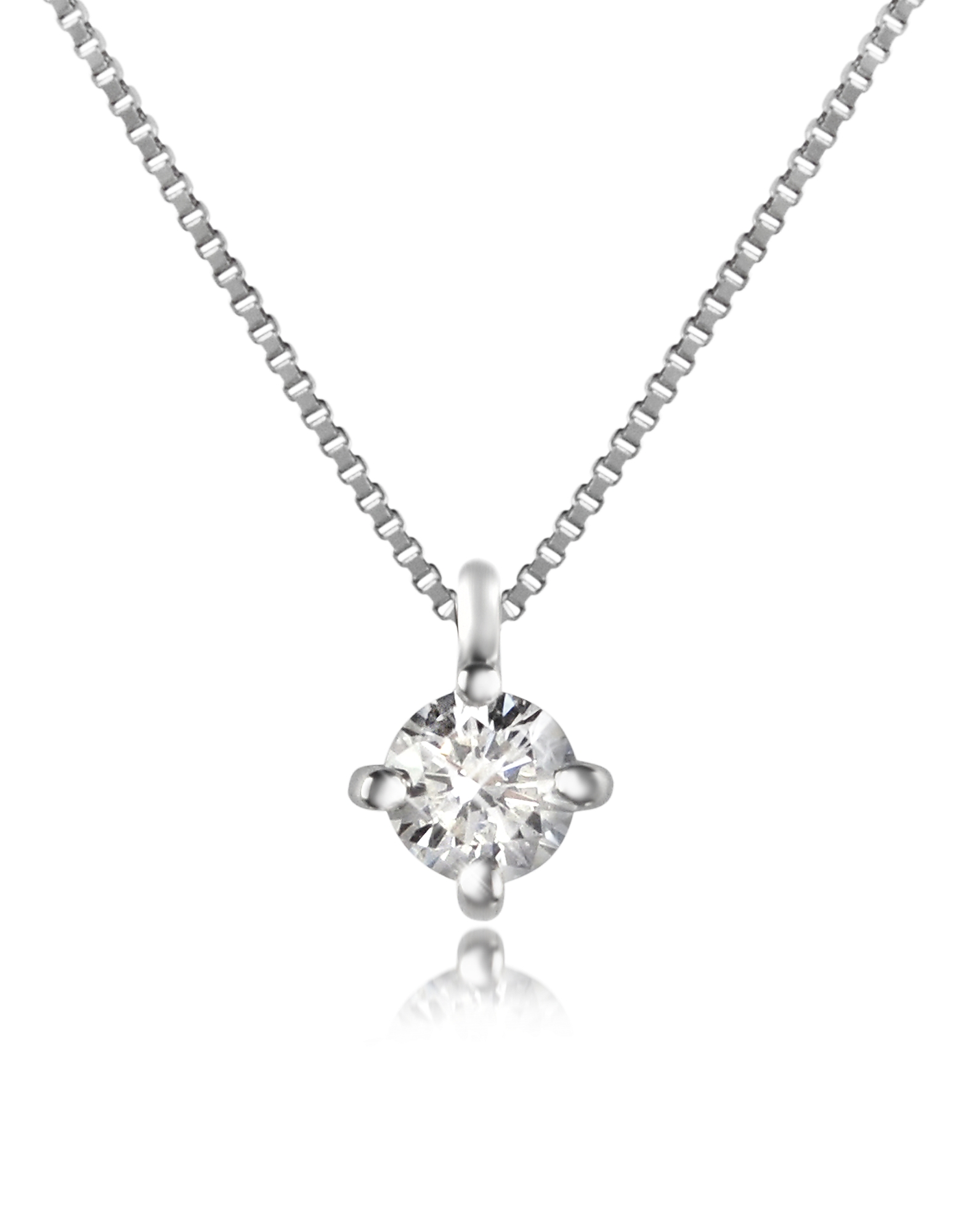 Forzieri Necklaces, Diamond Stud Necklace