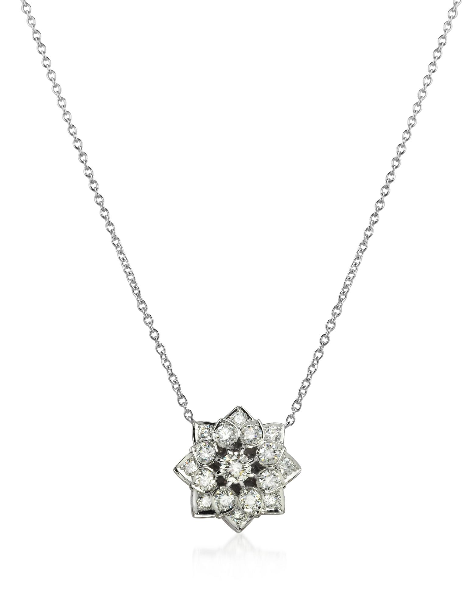 Incanto Royale Necklaces, 1.35 ctw Diamond 18K Gold Necklace