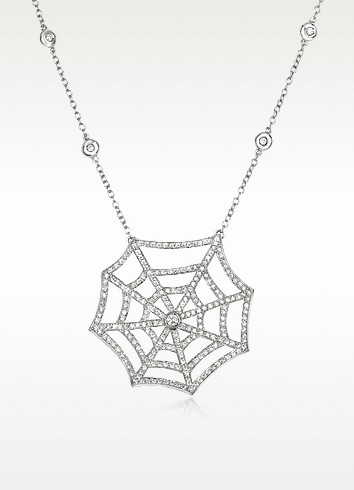 1.89 ctw Diamond 18K Gold Necklace - Incanto Royale