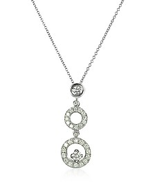 0.55 ctw Diamond 18K Gold Necklace - Incanto Royale