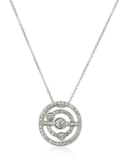 Incanto Royale Collier en Or Blanc 18K avec Diamants
