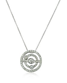 0.42 ctw Diamond 18K Gold Charm Necklace - Incanto Royale