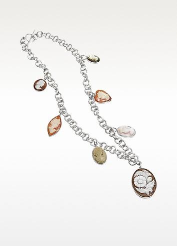 Cameo Charm Necklace - Mia & Beverly