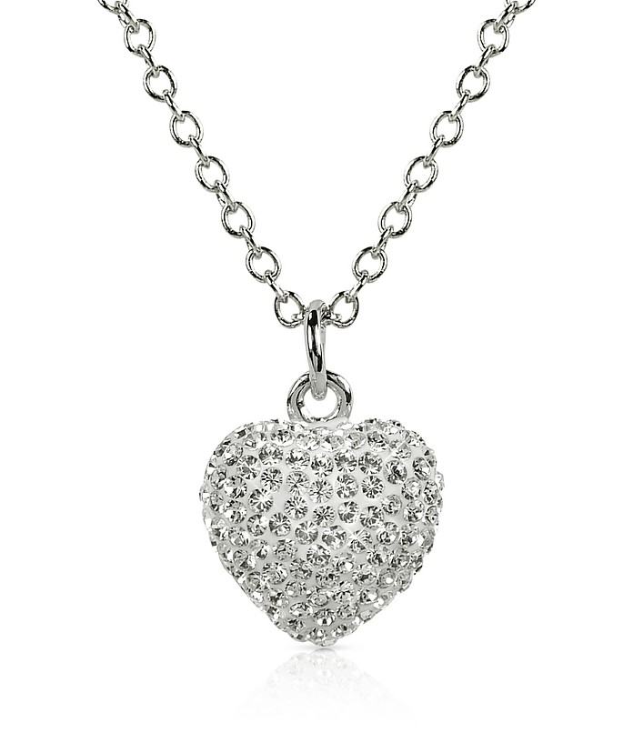 Fantasmania - Crystal Heart Pendant Necklace - Gisèle St.Moritz