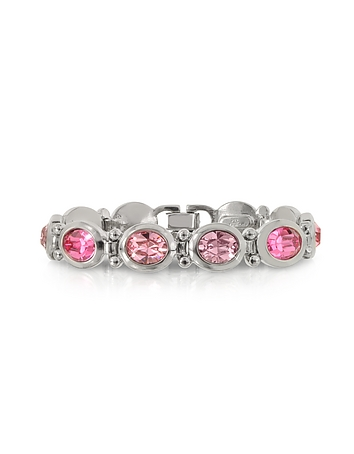 Forzieri - Pink Crystals Bracelet