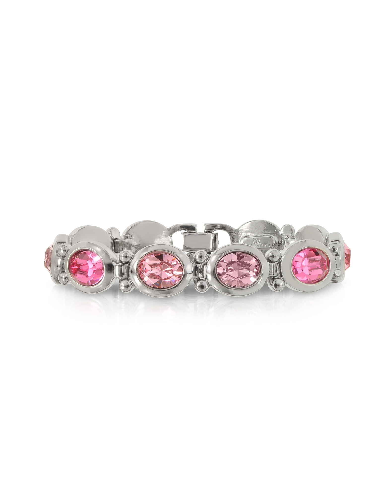 Forzieri Bracelets, Pink Crystals Bracelet