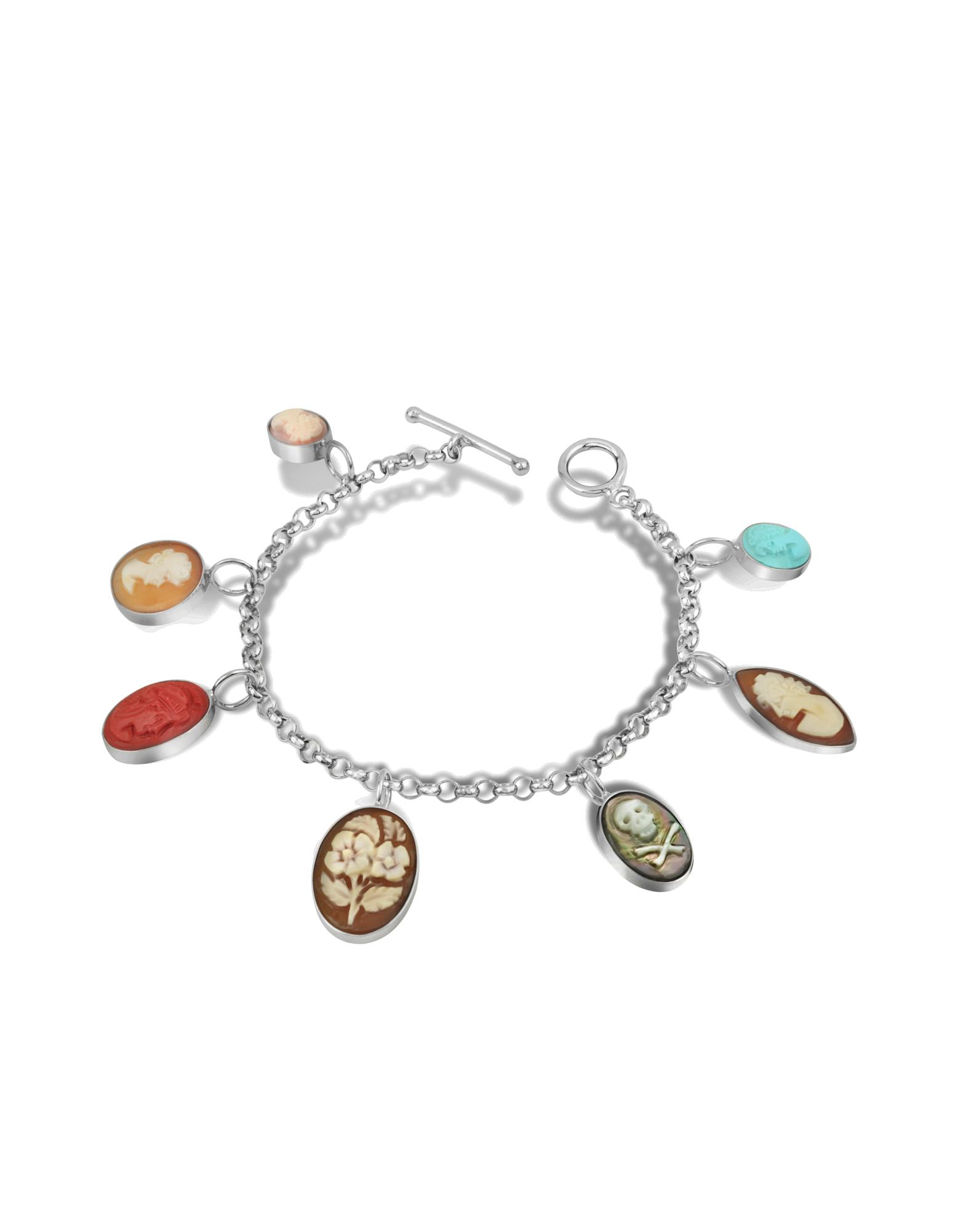 Image of Cameo Charm Bracelet