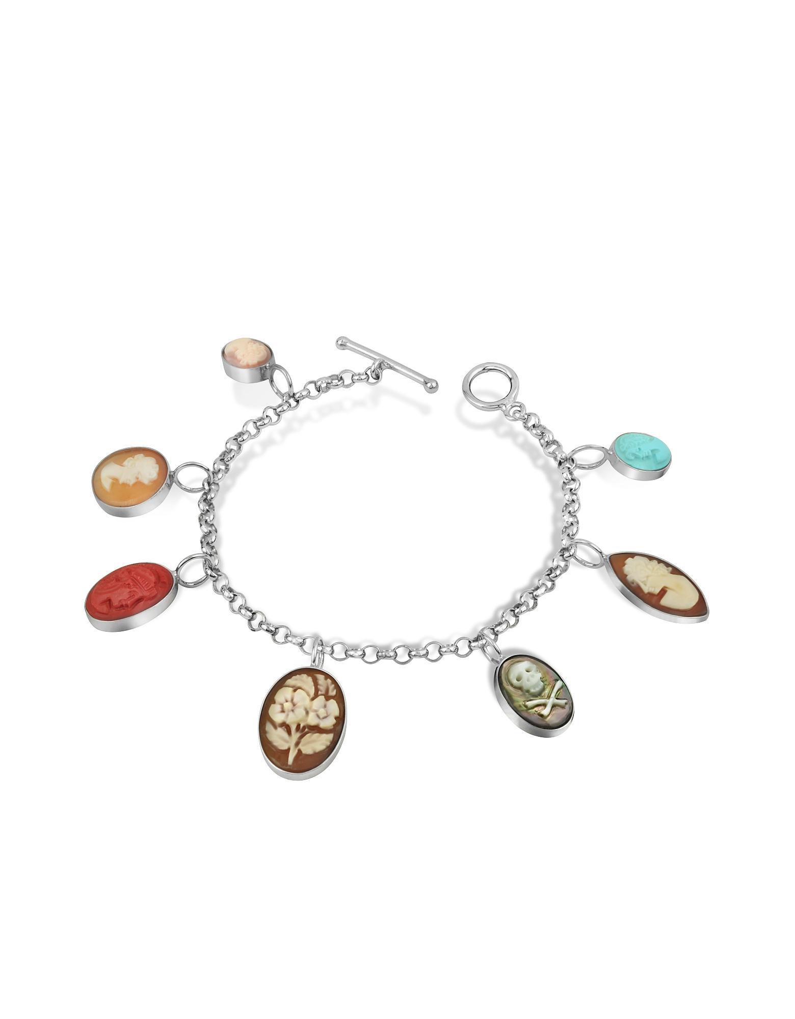 Mia & Beverly Cameo, Cameo Charm Bracelet