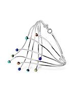 Forzieri Fuochi d'artificio - Bracciale in argento con gemme di vetro - forzieri - it.forzieri.com