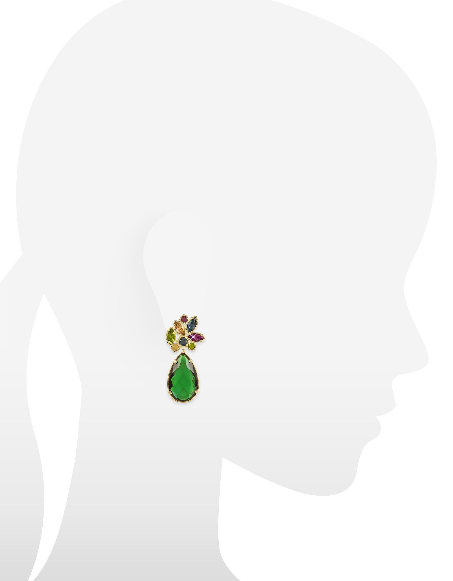 Crystal Drop Earrings от Forzieri INT