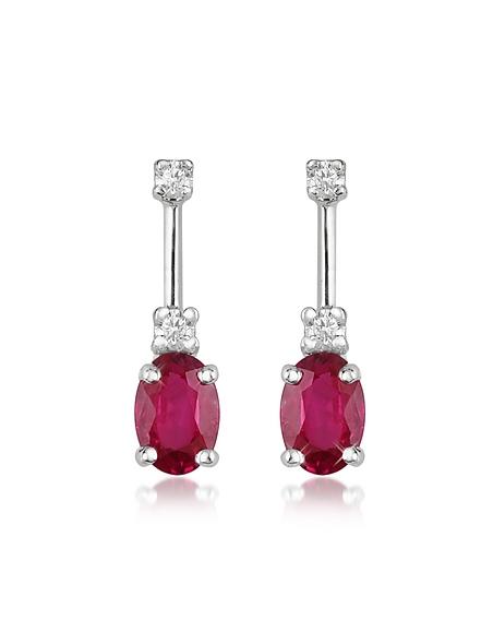 Foto Incanto Royale Victoria - Orecchini in Oro 18 ct. Diamanti e Rubino