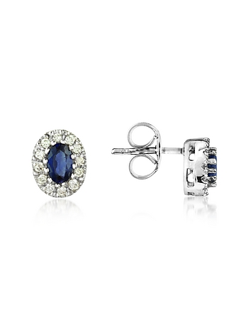 Incanto Royale - Sapphires and Diamond 18K Gold Earrings