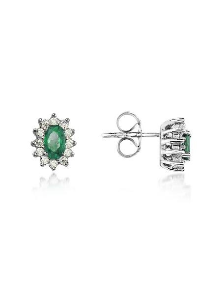 Foto Incanto Royale Orecchini con Smeraldo e Diamanti