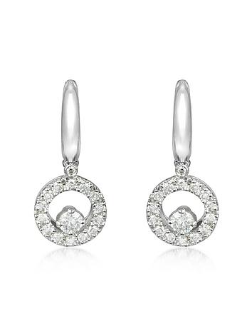 0.7 ctw Diamond 18K Gold Earrings