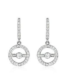 0.55 ctw Diamond 18K Gold Earrings - Incanto Royale