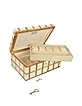 White Inlaid Wood 10 Piece Watch Box - Forzieri