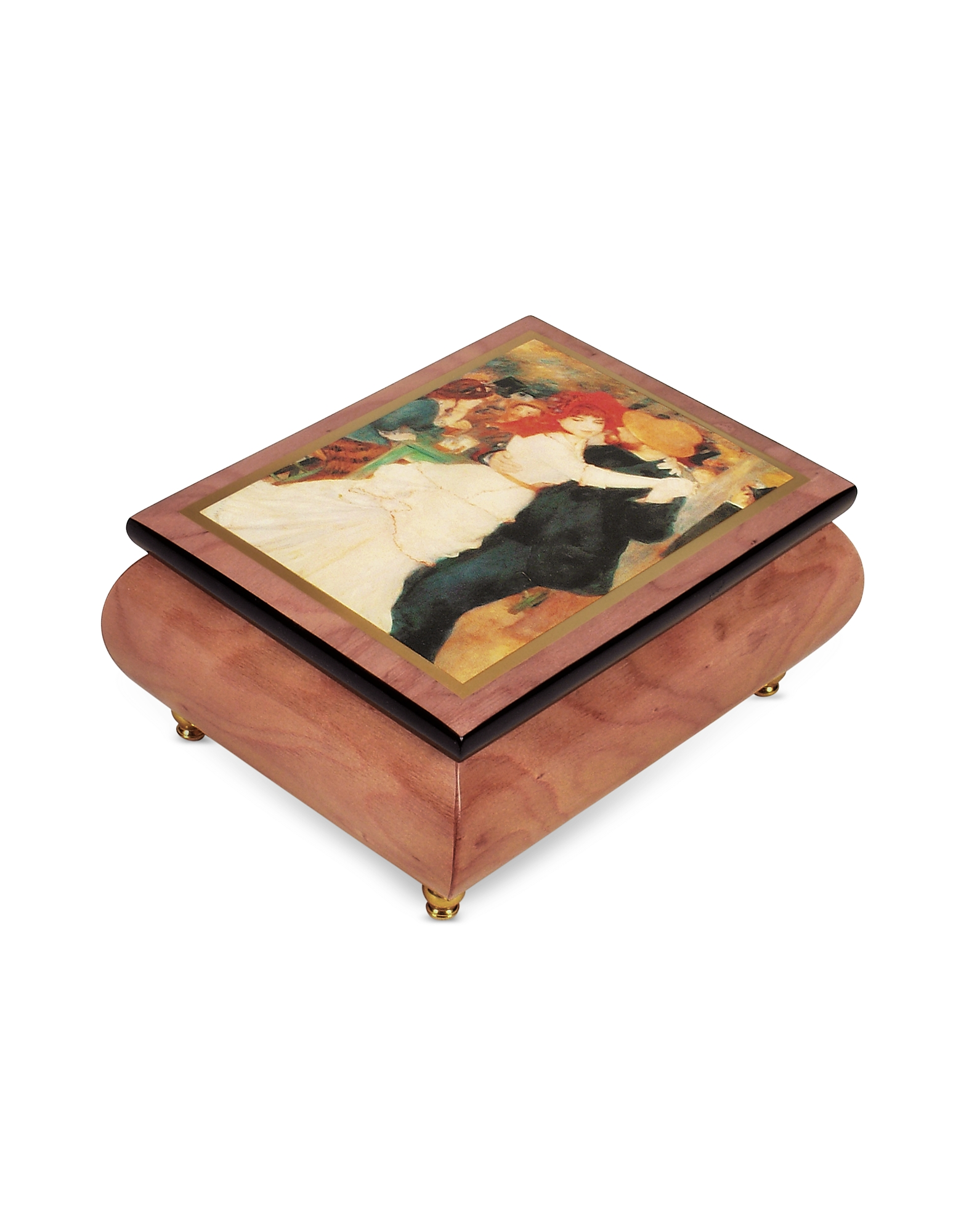 "Forzieri Jewelry Boxes, It's a Small World - ""Dance at Bougival"" Musical Jewelry Box"