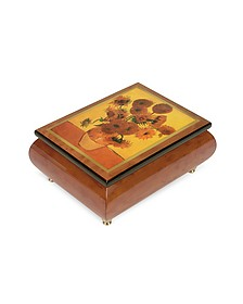 "It's a Small World - ""Sunflowers"" Musical Jewelry Box - Forzieri"