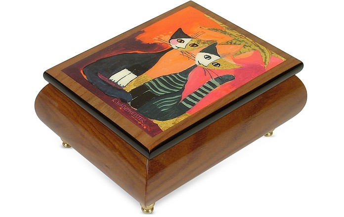"""It's a Small World - """"Together"""" Musical Jewelry Box - Forzieri"""