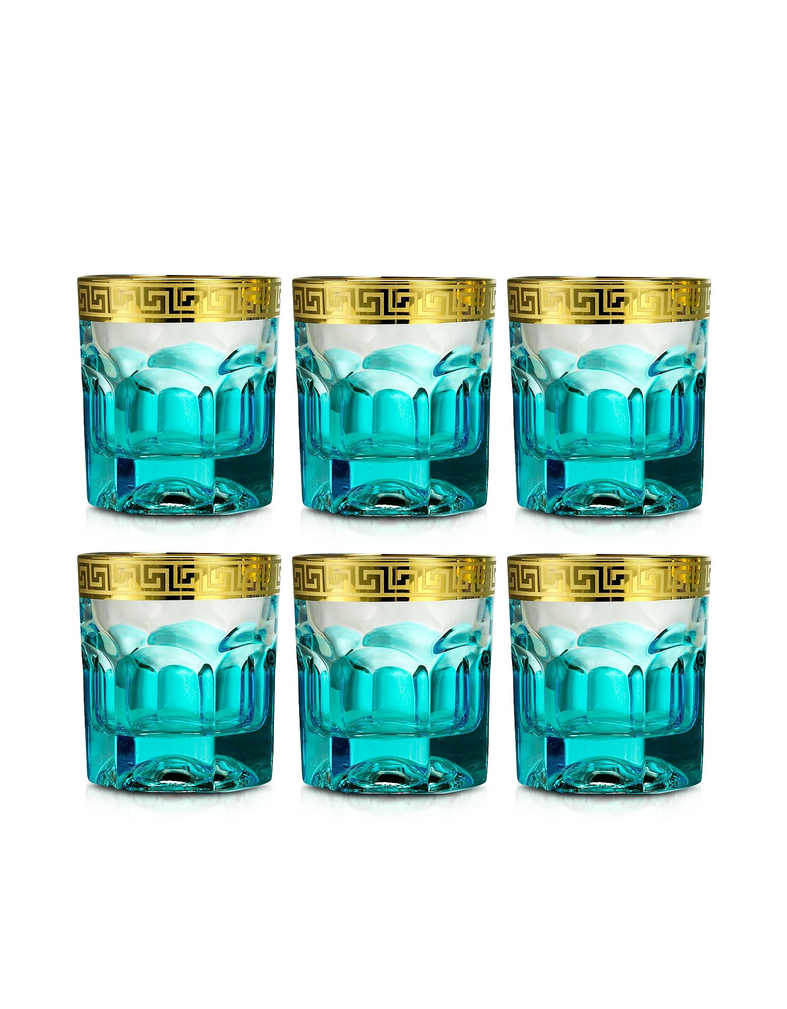 Zecchin Set of 6 Water Glasses от Forzieri.com INT
