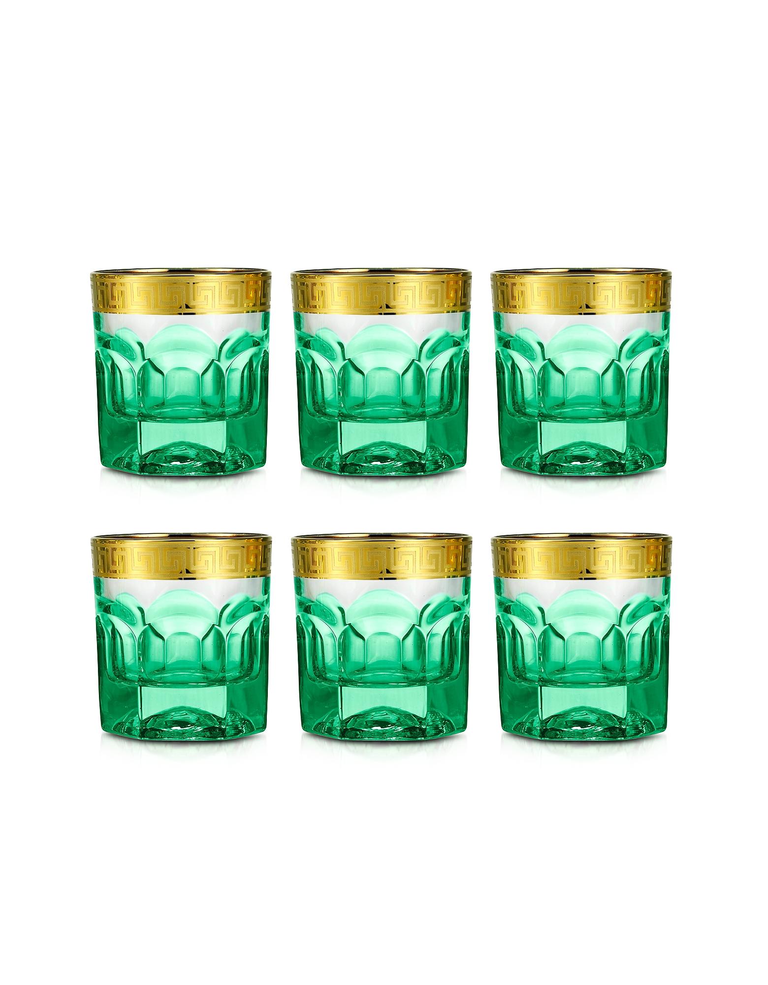 Zecchin Set of 6 Tumbler Glasses от Forzieri.com INT
