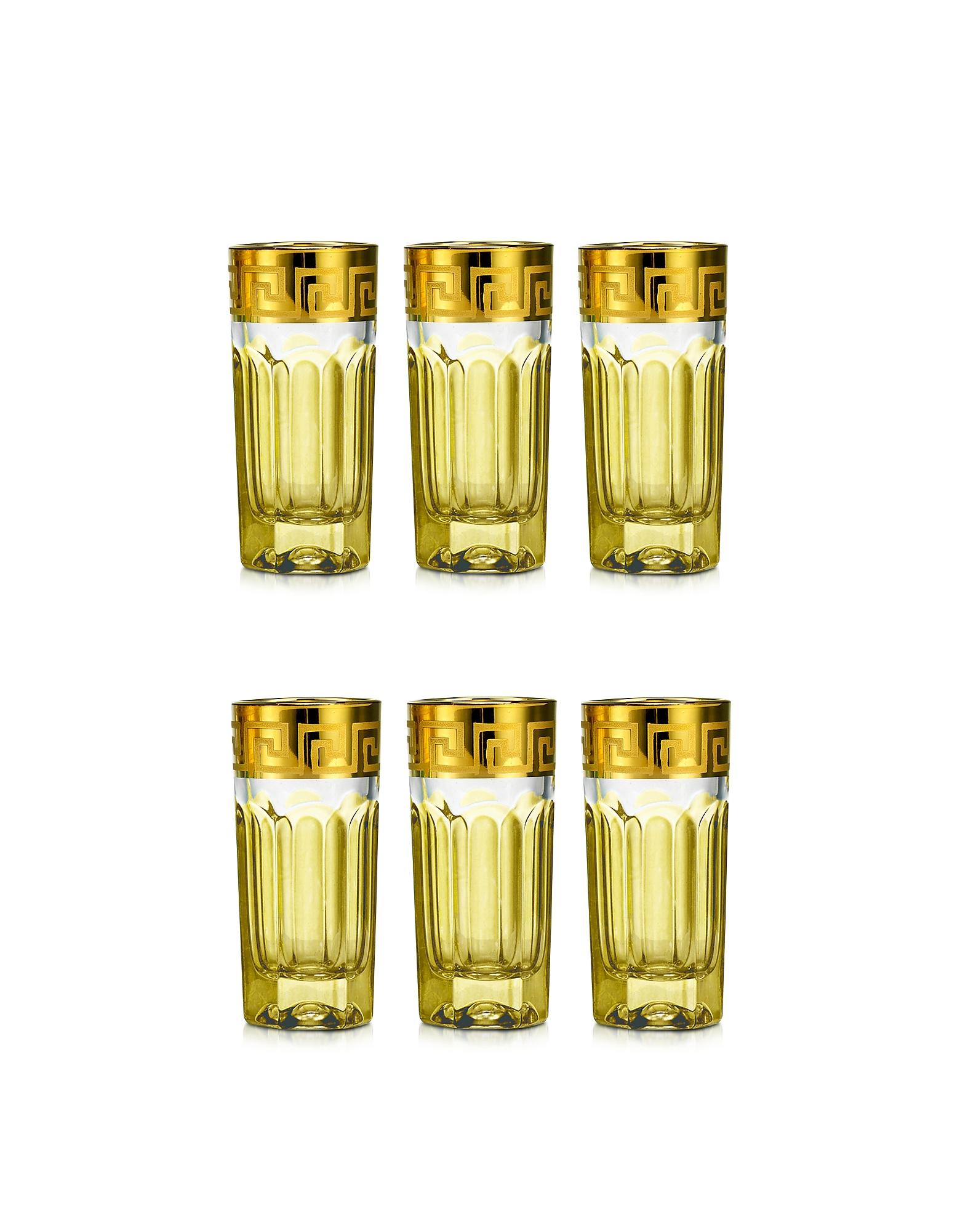 Zecchin Set of 6 Shot Glasses от Forzieri.com INT