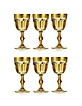 Zecchin Set of 6 Water Goblets - Forzieri