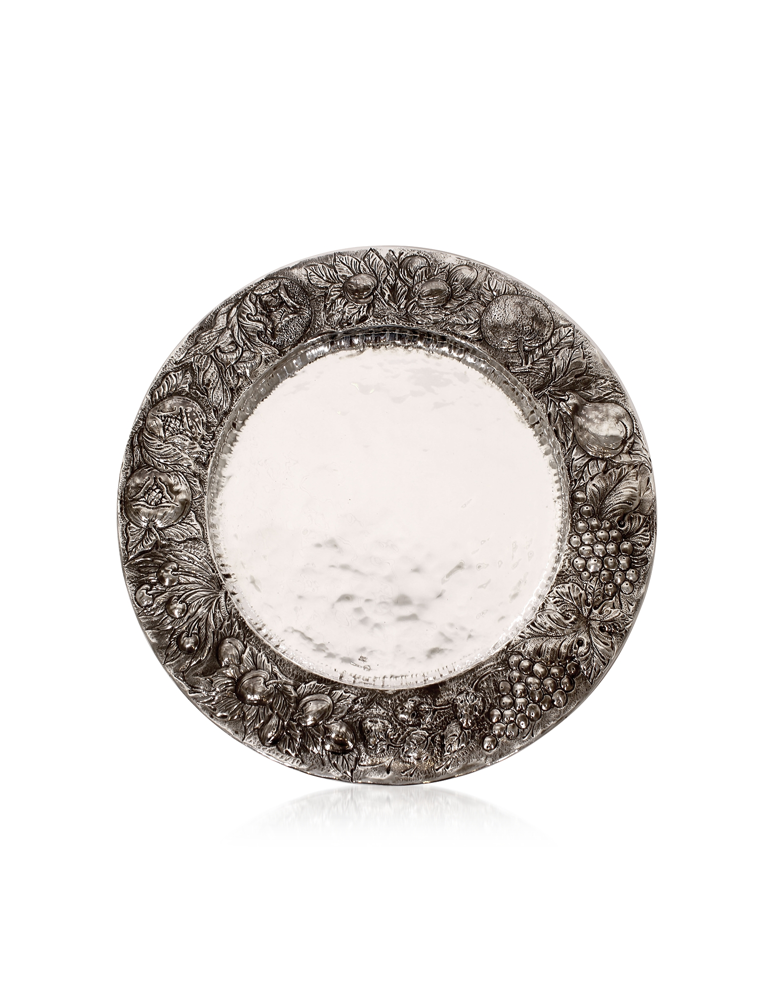 Silver Plated Brass Decorative Plate