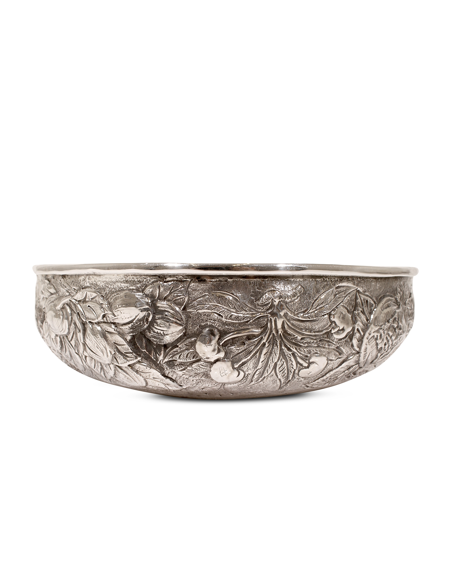 Silver Plated Brass Fruit Bowl