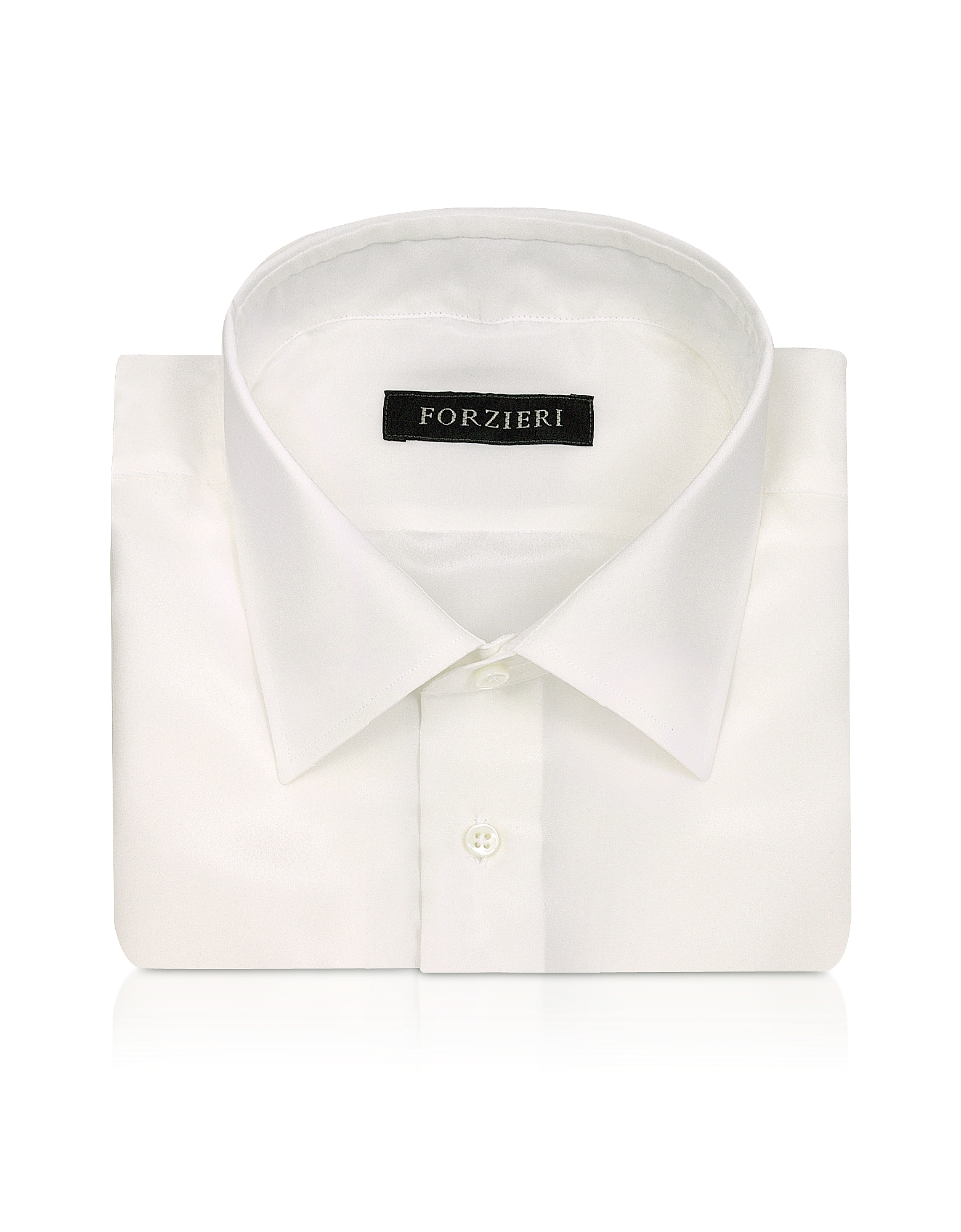 Ivory Pure Silk Dress Shirt