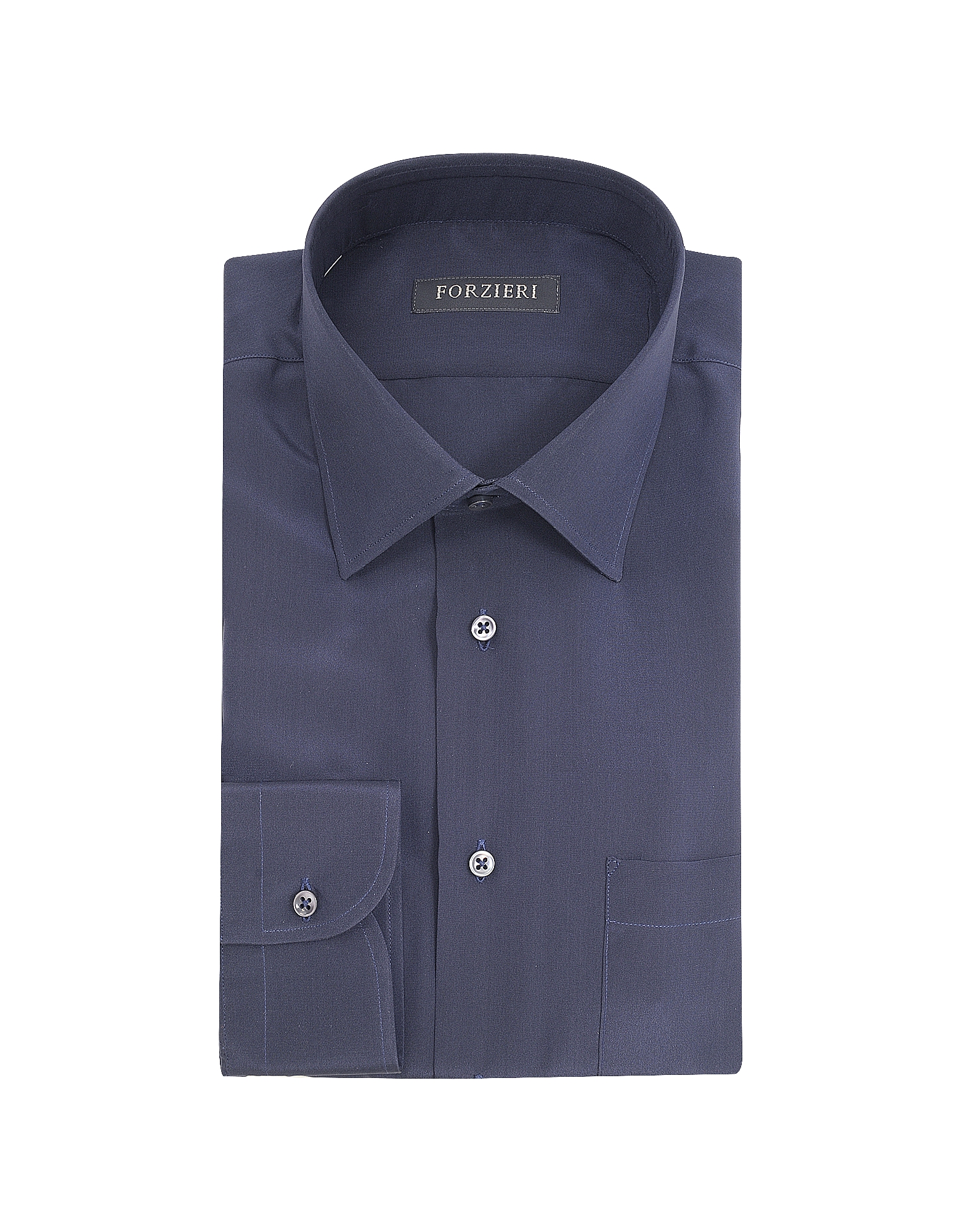 Blue Pure Silk Dress Shirt от Forzieri.com INT