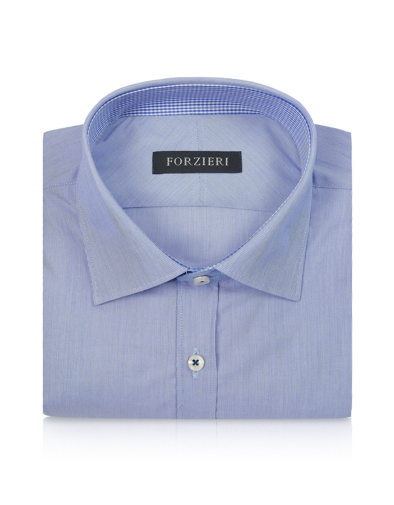 Striped Slim Fit Cotton Dress Shirt от Forzieri.com INT