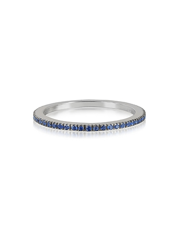 Forzieri - Natural Blue Sapphire Eternity Band Ring