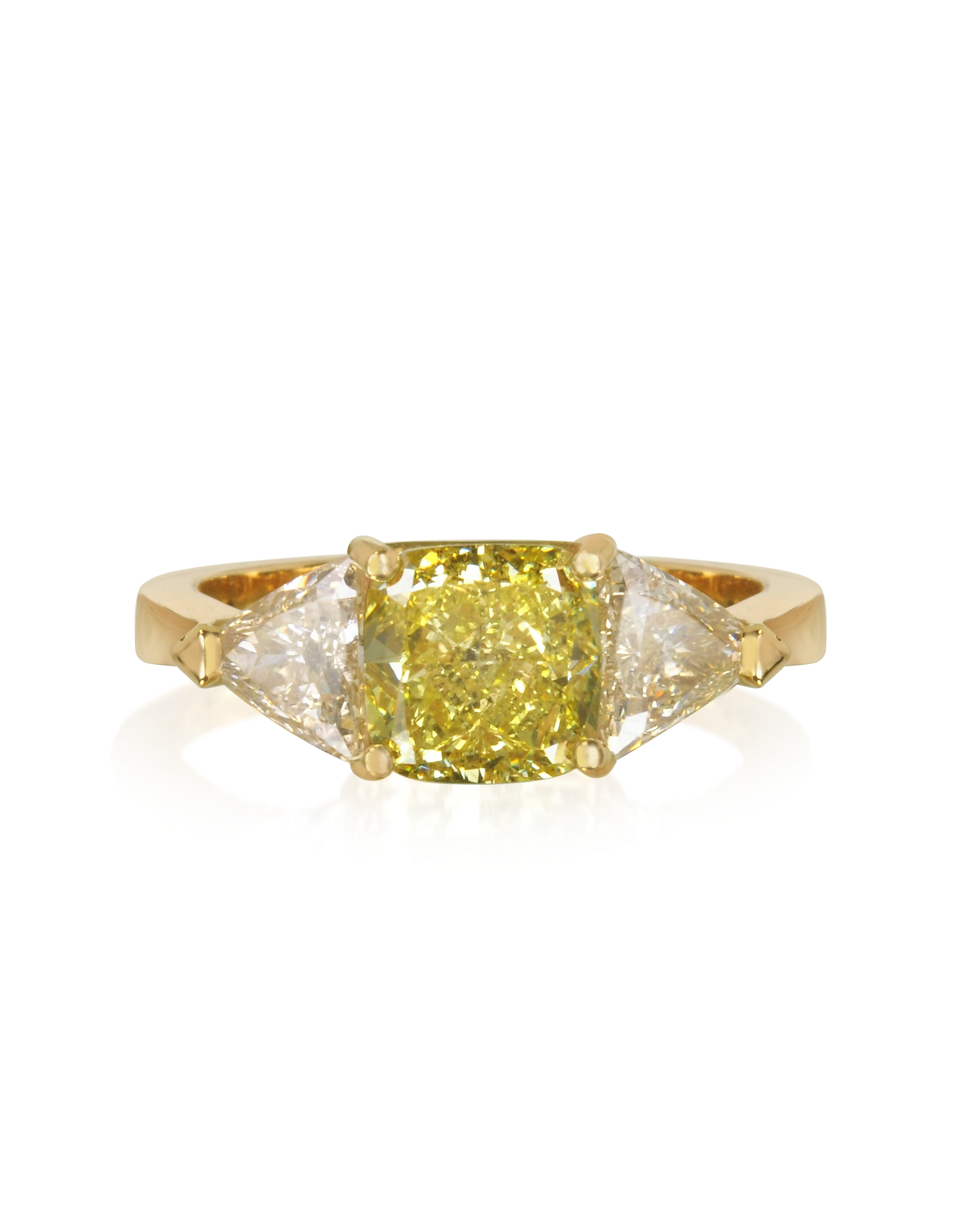 Forzieri Designer Rings, Diamond Gold Ring