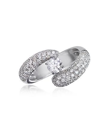 Forzieri - Diamond 18K Gold Ring