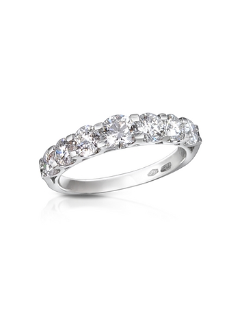Forzieri - 1.33 ct Prong-Set Diamond 18K Gold Ring