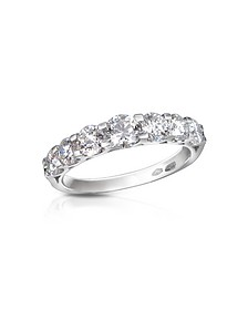 1.33 ct Prong-Set Diamond 18K Gold Ring - Forzieri