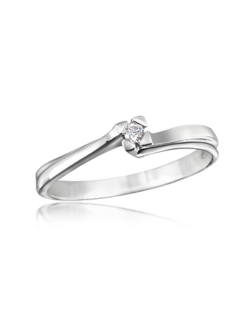 Forzieri - 0.03 ctw Diamond Solitaire Ring