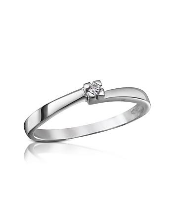 Forzieri - 0.03 ctw Diamond Solitaire Ring