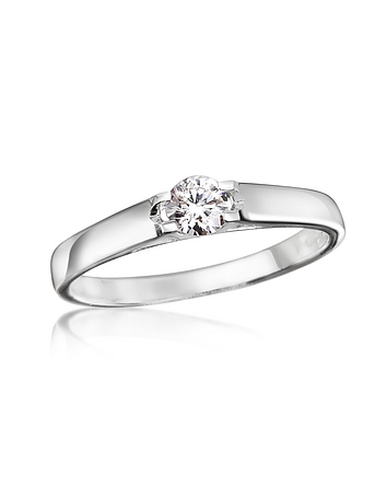 Forzieri - 0.24 ctw Diamond Solitaire Ring