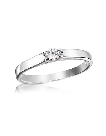 Forzieri - 0.10 ctw Diamond Solitaire Ring