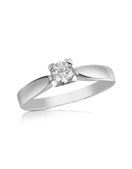 Forzieri Bague ornée d'un diamant 0.23 Ct