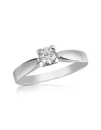Forzieri - 0.23 ctw Diamond Solitaire Ring