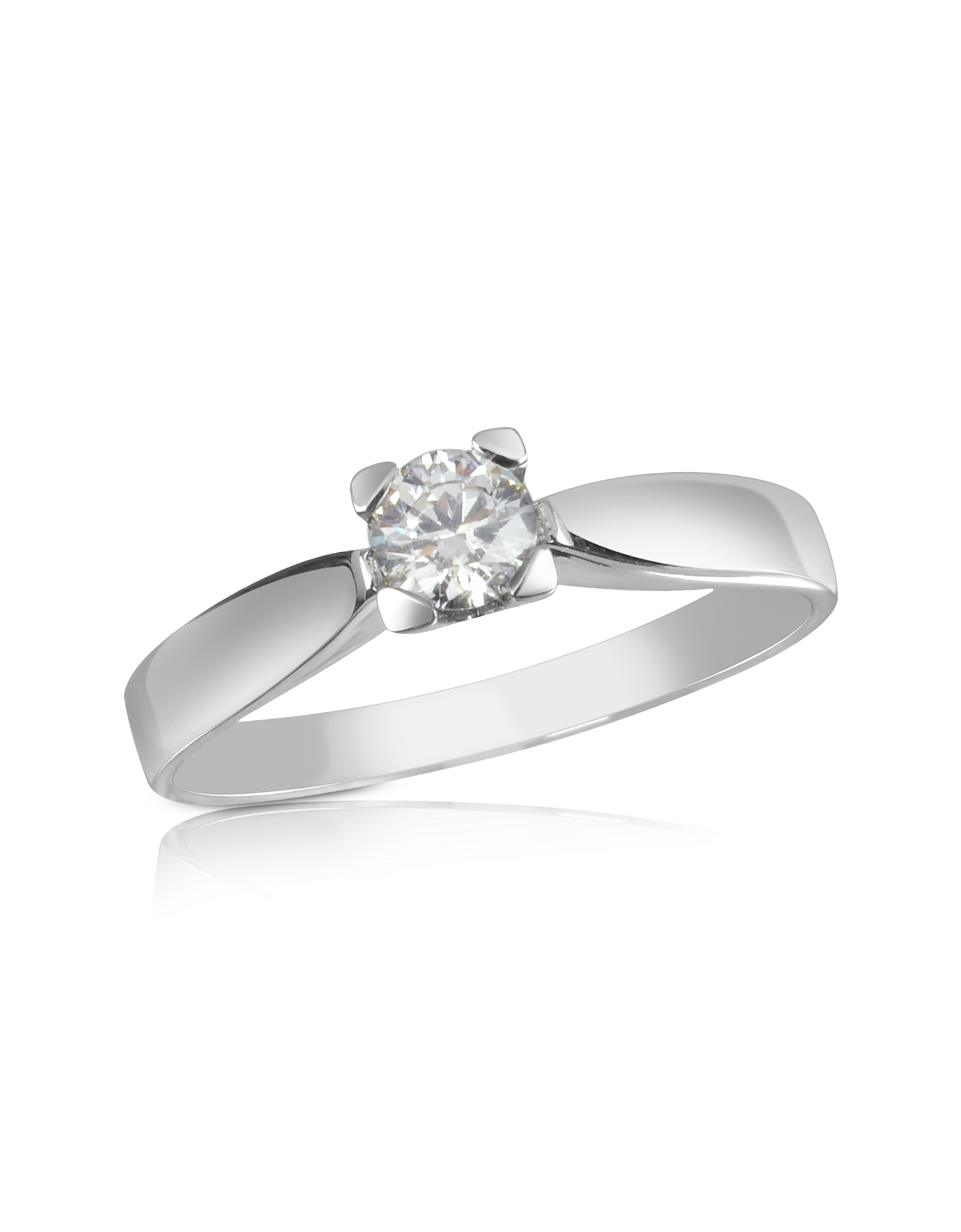 Forzieri Rings, 0.23 ctw Diamond Solitaire Ring
