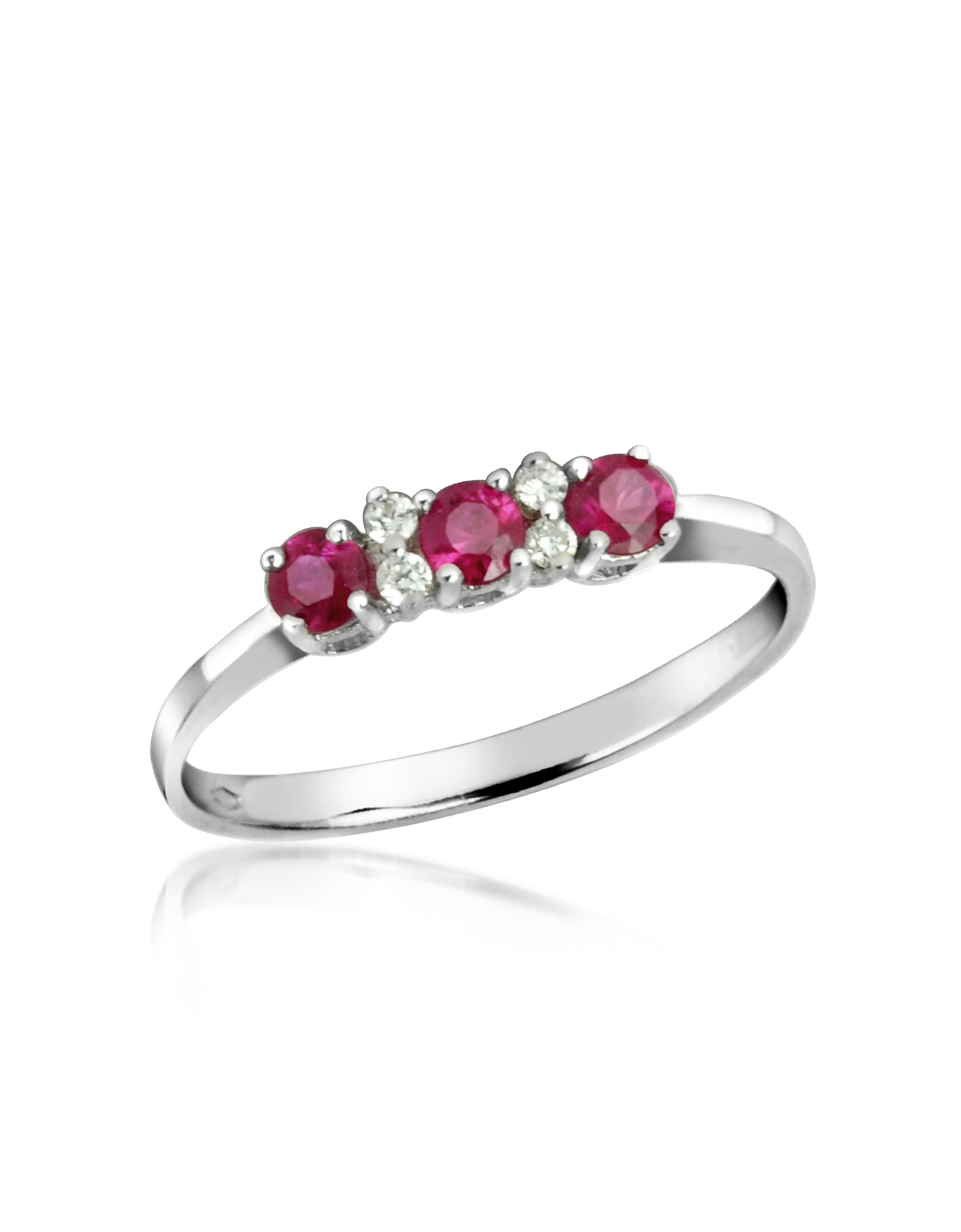 Incanto Royale Rings, Ruby and Diamond 18K Gold Ring