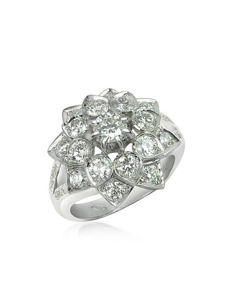 Foto Incanto Royale Anello in Oro Bianco 18K e Diamanti Anelli