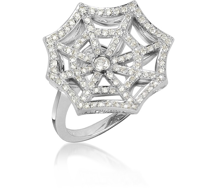 0.73 ctw Diamond 18K Gold Ring - Incanto Royale