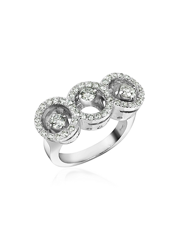 Incanto Royale - 0.85 ctw Diamond 18K Gold Ring