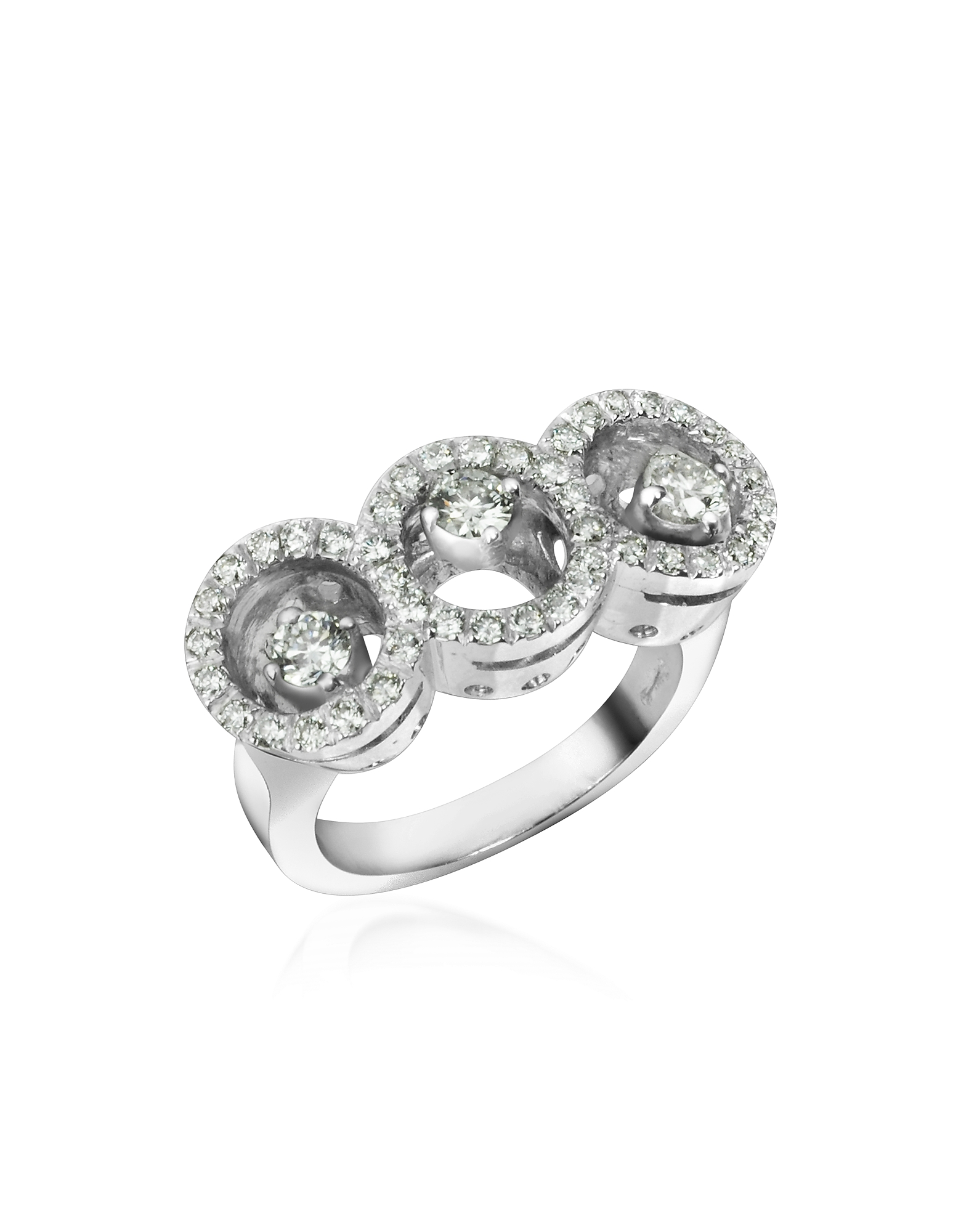 Incanto Royale Rings, 0.85 ctw Diamond 18K Gold Ring