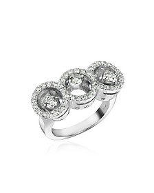 0.85 ctw Diamond 18K Gold Ring - Incanto Royale